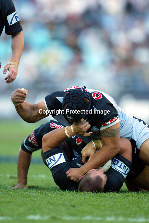 28 September 2003, Rugby Leage NRL Semi Final, New Zealand vs Penrith Panthers, Telstra Stadium, Sydney, Australia.<br />