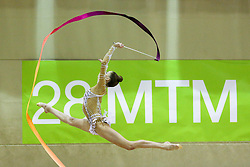 Maria Titova of Russia competes during 28th MTM - International tournament in rhythmic gymnastics Ljubljana, on April 4, 2015 in Arena Krim, Ljubljana, Slovenia. Photo by Matic Klansek Velej / Sportida