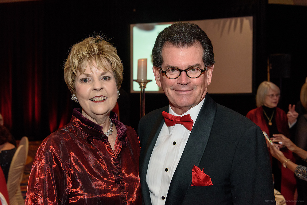 Supporters party at the Wrapped in Red Gala, the signature philanthropic event held to benefit the American Red Cross Louisville Area Chapter, Saturday, March 18, 2017, at the Marriott Downtown in Louisville, Ky. (Photo by Brian Bohannon)