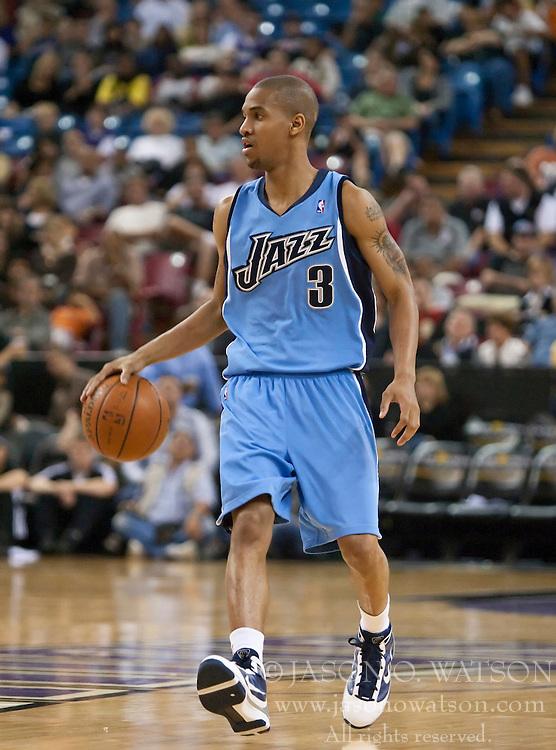 NBA: Preseason-Utah Jazz at Sacramento Kings | Jason O