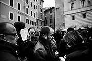 Matteo Orfini (PD) participates to a demonstration called to urge the government to approve a law on the citizenship right for foreigners living in Italy.<br /> Rome 28 Febraury 2017. Christian Mantuano / OneShot