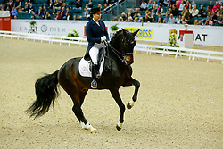 Merkulova Inessa, (RUS), Mister X<br /> Grand Prix Freestyle<br /> Reem Acra FEI World Cup Dressage Final II<br /> © Dirk Caremans