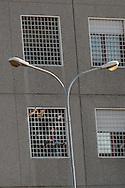 Roma 31 Dicembre 2011.Manifestazione contro il carcere a Rebibbia.Il corteo musicale davanti al carcere di Rebibbia, i detenuti salutano il corteo .Rome, December 31, 2011.Demonstration against the prison of Rebibbia.The parade music in front of the prison in Rebibbia.The prisoners greet the demonstration