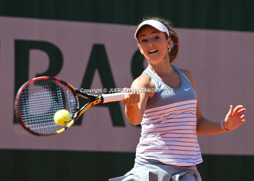 Catherine Bellis (USA)<br /> <br /> Tennis - French Open 2015 - Grand Slam ITF / ATP / WTA -  Roland Garros - Paris -  - France  - 4 June 2015.