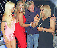 Angelique 'Frenchy' Morgan, Lauren Goodger, Gary Busey & Kelly Maloney, Celebrity Big Brother Summer 2014 - Live Final, Elstree Studios, Elstree UK, 12 September 2014, Photo by Brett D. Cove