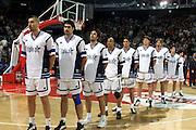 BPA Palace Pesaro<br /> Italia-Russia<br /> Nella foto: team italia<br /> Foto Ciamillo