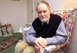 Feature on Frank Thomas from Harleston, Norfolk. Frank is angry because he paid a pension for 2 and a half years to find it was less than he paid in. .Photo by Andrew Parsons/i-Images.All Rights Reserved ©Andrew Parsons/i-images.See Instructions.