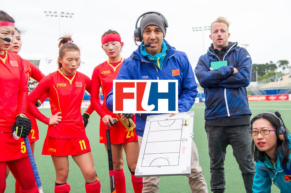AUCKLAND - Sentinel Hockey World League final women<br /> Match id 10294<br /> 04 Argentina v China.<br /> Foto: Jamilon M&Uuml;LDERS coach China.<br /> WORLDSPORTPICS COPYRIGHT FRANK UIJLENBROEK