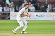 Ed Barnard of Worcestershire during the Specsavers County Champ Div 1 match between Somerset County Cricket Club and Worcestershire County Cricket Club at the Cooper Associates County Ground, Taunton, United Kingdom on 22 April 2018. Picture by Graham Hunt.