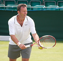 MANCHESTER, ENGLAND: Jeremy Bates (GBR) during Day one of the Manchester Masters Tennis Tournament at the Northern Tennis Club. (Pic by David Tickle/Propaganda)