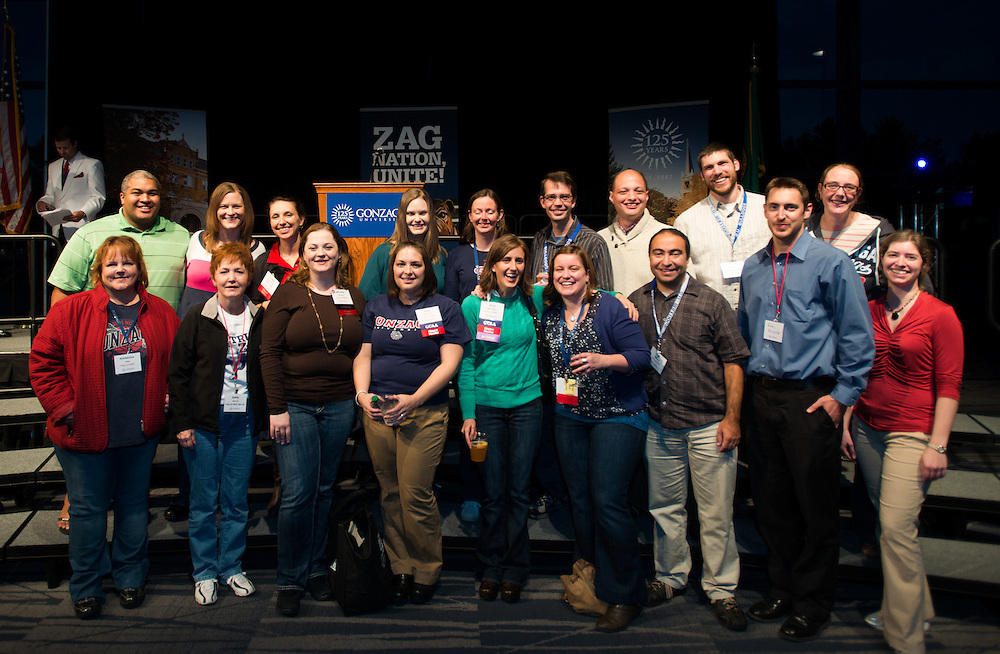 Gonzaga celebrated its first Zagapalooza, welcoming thousands of alumni to campus to celebrate the 125th Anniversary of the University.<br /> <br /> Photo by Rajah Bose