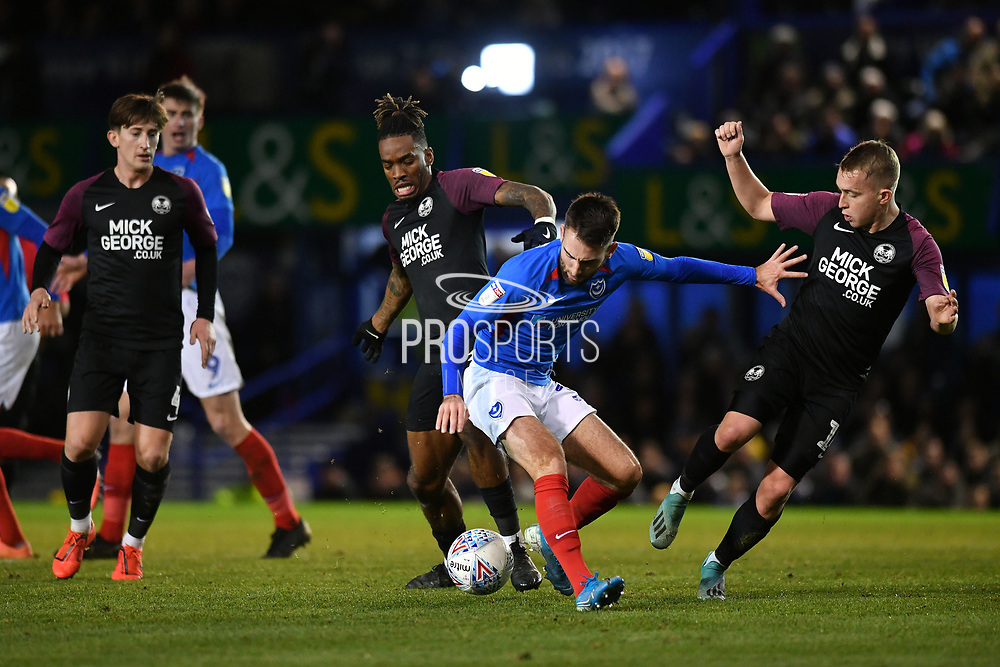 Portsmouth's Ben Close during the EFL Sky Bet League 1 match between Portsmouth and Peterborough United at Fratton Park, Portsmouth, England on 7 December 2019.