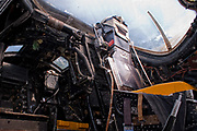 English Electric Canberra WJ880<br /> Cockpit interior
