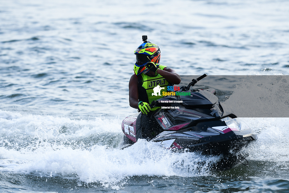 PATTAYA, THAILAND - DECEMBER 09: Waleed Alsharshani (11) of Qatar after the Pro Runabout GP Moto4 at the Thai Airways International Jet Ski World Cup 2018, Jomtien Beach, Pattaya, Thailand on December 09, 2018. <br /> .<br /> .<br /> .<br /> (Photo by: Naratip Golf Srisupab/SEALs Sports Images)<br /> .<br /> Any image use must include a mandatory credit line adjacent to the content which should read: Naratip Golf Srisupab/SEALs Sports Images