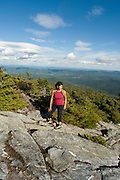 Hiking Mount Abraham on Vermont's Long Trail.