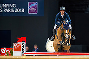 Steve Guerdat - Bianca<br /> FEI Longines FEI World Cup Paris 2018<br /> &copy; DigiShots