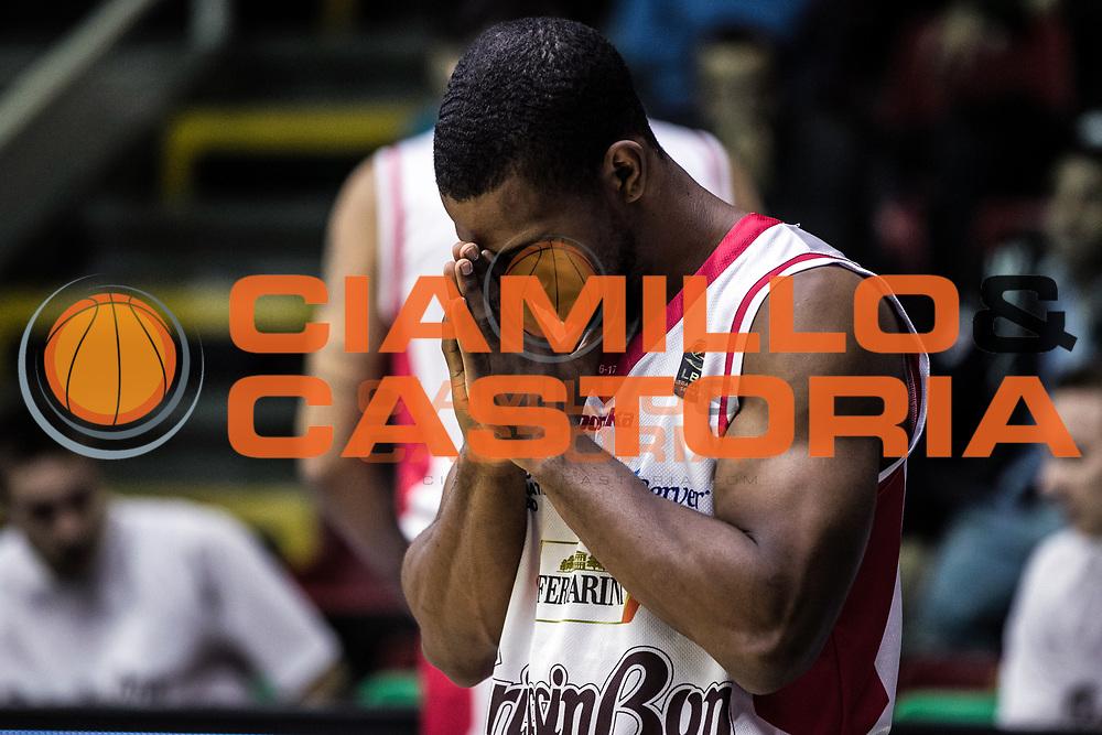 Derek Needham<br /> Sidigas Scandone Avellino - Grissin Bon Pallacanestro Reggio Emilia<br /> Lega Basket Serie A 2016/2017<br /> Avellino 13/11/2016<br /> Foto Ciamillo-Castoria