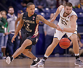 NCAA Basketball - Notre Dame Fighting Irish vs Florida State Seminoles - South Bend, In