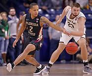 NCAA Basketball - Notre Dame Fighting Irish vs Florida State Seminoles - South Bend, In