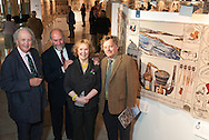 Media launch of the Great Tapestry of Scotland at the Scottish Parliament in Edinburgh with Dorie Wilkie, Andrew Crummy, Alexander McCall Smith, Alistair Moffat and presiding officer Tricia Marwick<br /> <br /> Copyright Alex Hewitt<br /> 07789 871 540
