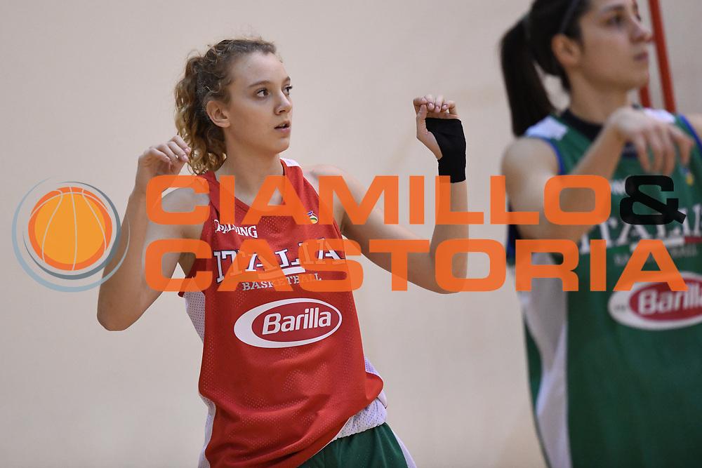 Martina Kacerik<br /> Nazionale Femminile Senior <br /> Allenamento FIBA Women's EuroBasket 2019 Qualifiers<br /> FIP 2017<br /> Roma 06/11/2017<br /> Foto M.Ceretti / Ciamillo-Castoria