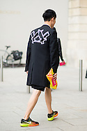 Hawk Decal Coat, Outside Schiaparelli