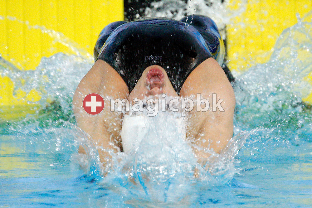 Thomas RUPPRATH of Germany starts in the men's 50m Backstroke Heats at the 13th European Short Course Swimming Championships in Istanbul, Turkey, Friday, Dec. 11, 2009. (Photo by Patrick B. Kraemer / MAGICPBK)