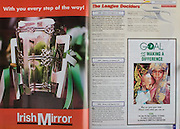 All Ireland Senior Hurling Championship Final,.09.09.2001, 9th September 2001,.Minor Cork 2-10, Galway 1-8,.Senior Tipperary 2-18, Galway 2-15,  .09092001AISHCF,.GOAL, Irish Mirror,