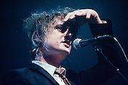 Pete Doherty/Babyshambles performing live at the Rockhal concert venue in Luxembourg, Europe on January 14, 2014