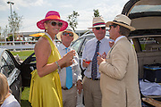 RUTH THOMPSON; MARTIN GRAY; DAVID LOWE, GILES THOMPSON, Glorious Goodwood. Thursday.  Sussex. 3 August 2013