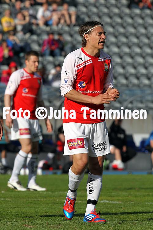 24.5.2012, Hiihtostadion, Lahti..Veikkausliiga 2012..FC Lahti - Myllykosken Pallo-47..Pekka Sihvola - MYPA
