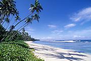Faiaai Beach, Savaii Island Samoa
