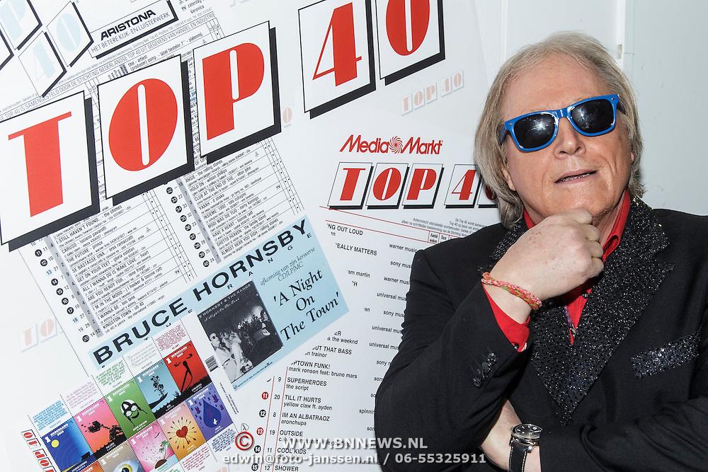 NLD/Hilversum/20150102 - Top40 viert 50 jarig bestaan, Eddy Ouwens