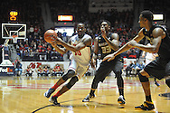 "Mississippi's LaDarius White (10) vs. Missouri's Earnest Ross (33) at the C.M. ""Tad"" Smith Coliseum in Oxford, Miss. on Saturday, February 8, 2014. Mississippi won 91-88."
