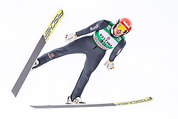 13.01.2019, Stadio del Salto, Predazzo, ITA, FIS Weltcup Nordische Kombination, Skisprung, im Bild Terence Weber (GER) // Terence Weber of Germany during Skijumping Competition of FIS Nordic Combined World Cup at the Stadio del Salto in Predazzo, Italy on 2019/01/13. EXPA Pictures © 2019, PhotoCredit: EXPA/ JFK