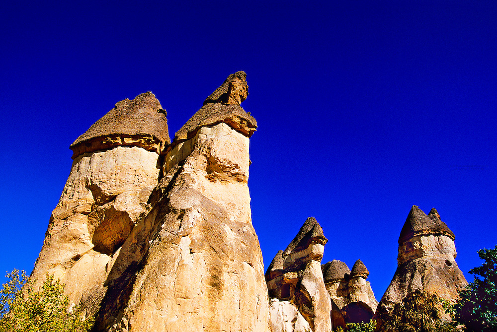 Fairy chimneys, Zelve, Cappadocia, Turkey