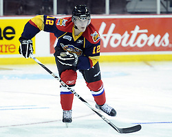 Andrew Yogan of the Erie Otters participates in Next Testing at the Home Hardware CHL Top Prospects Game in Windsor, ON on Tuesday. Photo by Aaron Bell/CHL