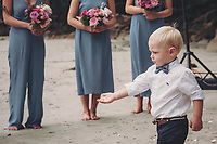 James & Kate beach wedding at Hahei Holiday Resort on the Coromandel photography by Felicity Jean Photography Coromandel Photographer