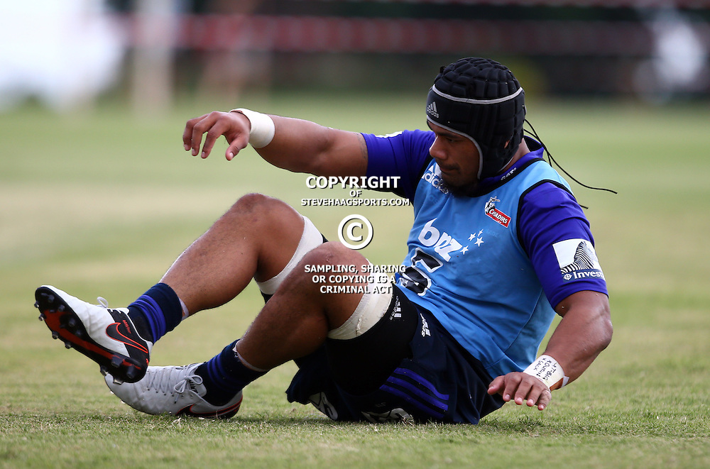 DURBAN, SOUTH AFRICA, 24,MARCH, 2016 - Jordan Taufua of the BNZ Crusaders during The Crusaders training session  at Northwood School Durban North in Durban and the Crusaders Media conference, South Africa. (Photo by Steve Haag)<br /> <br /> images for social media must have consent from Steve Haag