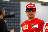RAIKKONEN Kimi (Fin) Ferrari F14T Portrait  during the 2014 Formula One World Championship, Singapore Grand Prix from September 19th to 21th 2014 in Singapour. Photo Florent Gooden / DPPI