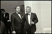 Graydon Carter;; Taki,  Washington Correspondents dinner. After party at Christopher Hitchens apt. Washington. April  1994. SUPPLIED FOR ONE-TIME USE ONLY> DO NOT ARCHIVE. © Copyright Photograph by Dafydd Jones 248 Clapham Rd.  London SW90PZ Tel 020 7820 0771 www.dafjones.com