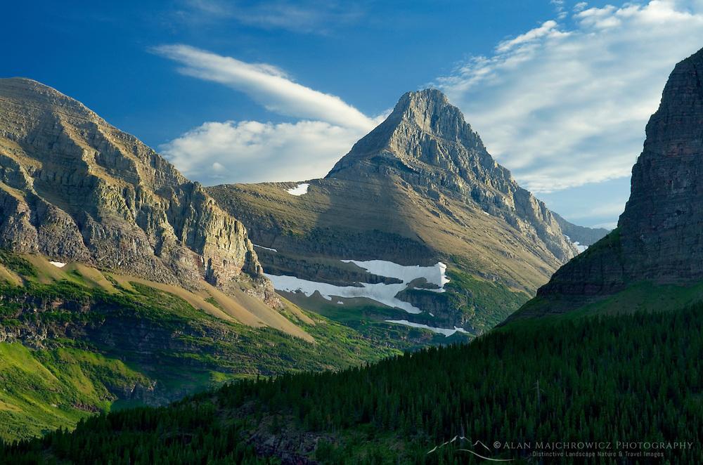 Cloud formations, Glacier National Park Montana USA