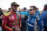 May 20, 2017: NASCAR Monster Energy All Star Race. Martin Truex Jr. and Ricky Stenhouse Jr.