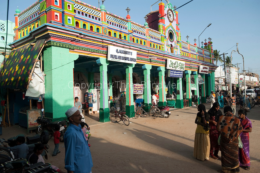 The Nagore Aandagai Dargah Shareef. Nagore. South India.