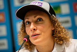 Ilka Stuhec during press conference of new alpine ski team of Ilka Stuhec before new season 2019/20, on June 10, 2019 in Telekom Slovenije, Ljubljana, Slovenia. Photo by Vid Ponikvar / Sportida