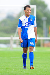 Bristol Rovers' U18s  Louis Ezwele - Photo mandatory by-line: Dougie Allward/JMP - Tel: Mobile: 07966 386802 17/08/2013 - SPORT - FOOTBALL - Bristol Rovers Training Ground - Friends Life Sports Ground - Bristol - Academy - Under 18s - Youth - Bristol Rovers U18s V Bournemouth U18s