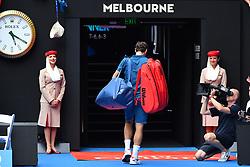 January 16, 2019 - Melbourne, AUSTRALIA - Roger Federer  (Credit Image: © Panoramic via ZUMA Press)