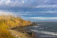 Sunsrise greets the beach at Cape Blanco State Park, Oregon, USA