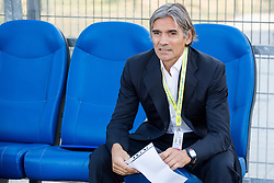 Rodolfo Vanoli, head coach of Luka Koper prior to the First Leg football match between FC Luka Koper and HNK Hajduk Split (CRO) in Second qualifying round of UEFA Europa League, on July 16, 2015 in Stadium Bonifika, Koper, Slovenia. Photo by Vid Ponikvar / Sportida