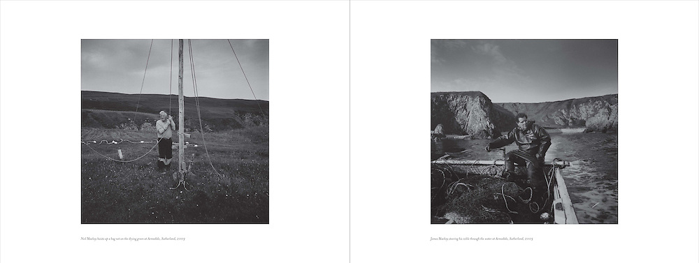 Image from proposed book entitled 'Catching the Tide' by Colin McPherson..NOT TO BE REPRODUCED